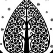 Bodhi Tree_v-7 Art Print
