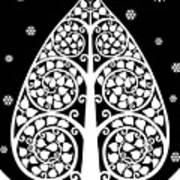 Bodhi Tree_v-8 Art Print