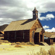 Bodie Church II Art Print