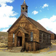 Bodie Church IIi Art Print