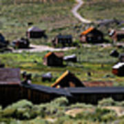 Bodie Ghost Town Panorama Art Print