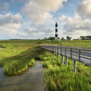 Bodie Island Lighthouse North Carolina Art Print
