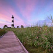Bodie Island Obx Sunrise Art Print