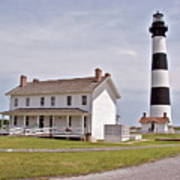 Bodie Lighthouse Nags Head Nc Art Print