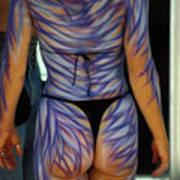 Body Paint Masterpiece Art Print