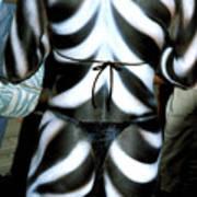 Body Stripes Art Print