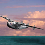 Boeing 314 Clipper Art Print