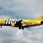 Boeing 737-204 Ryanair Art Print