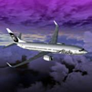 Boeing 737 Ng 001 Art Print