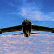 Boeing B-52 Stratofortress Oil Art Print