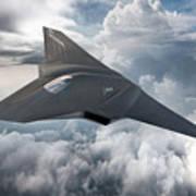 Boeing Next Gen Fighter Concept Art Print