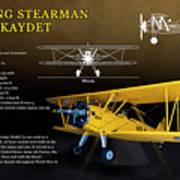 Boeing Stearman N2s Kaydet Art Print