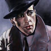 Bogart Art Print