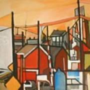 Bogota Industrial Art Print