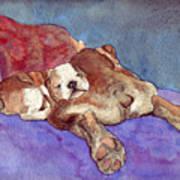 Bogs N Hugs Art Print