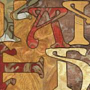 Bohemian Faith Print by Debbie DeWitt