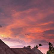 Bohol Sunset  Art Print