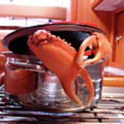 Boiled Crab Art Print