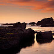 Boiler Bay Sunset Art Print