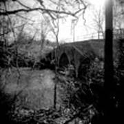 Boiling Springs Bridge Art Print