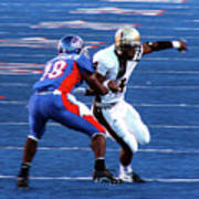 Boise State Great Gerald Alexander Art Print