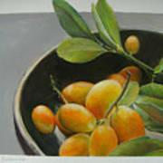 Bol De Kumquats Art Print