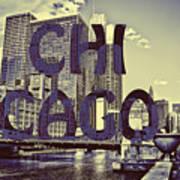 Bold Chicago Art Print