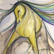 Bold Dancer Art Print