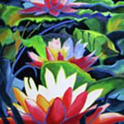 Bold Lilypads Art Print
