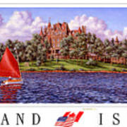 Boldt's Castle Poster Art Print