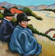 Bolivia Boys Art Print