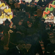 Bon Marche 1898 Art Print