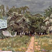 Bonnard: Balcony, 1909-10 Art Print