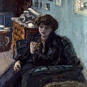 Bonnard: Lady, 19th C Art Print