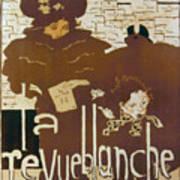 Bonnard Revue 1894 Art Print