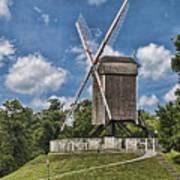 Bonne Chiere Windmill Art Print