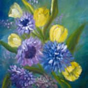 Bonnie Bouquet Art Print