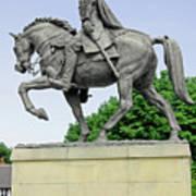 Bonnie Prince Charlie Statue - Derby Art Print