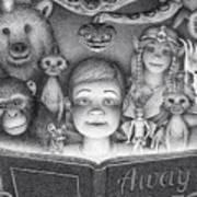 Book Club Art Print