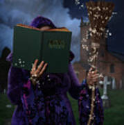 Book Of Magic Spells Art Print