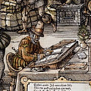 Bookkeeper, 16th Century Art Print