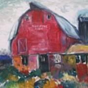 Boompa's Barn Art Print