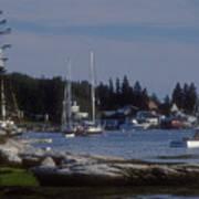 Boothbay Harbor In Maine Art Print