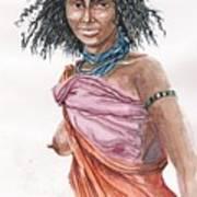 Boran Woman Art Print
