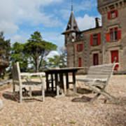 Bordeaux Chateau Art Print