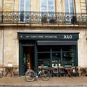 Bordeaux Storefront Art Print