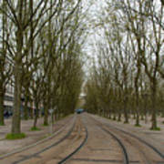 Bordeaux Tram Art Print