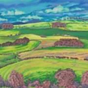 Border Country Art Print