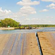 Border On Zambezi River Art Print