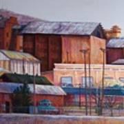 Borderland Mills Art Print
